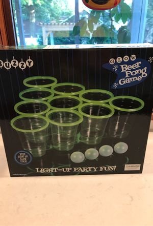 Glow Beer Pong Game - brand new for Sale in Elizabethtown, PA