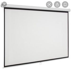 Projection screen for Sale in Modesto, CA