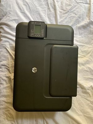 HP Deskjet 3050A needs power cord and ink. Broken at the top (in pictures) $7 or best offer for Sale in Tallahassee, FL
