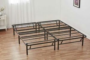 Mainstays King Metal Foldable Platform Bed Frame and Mattress Foundation for Sale in Boiling Springs, SC