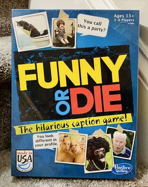 New In Box Funny Or Die Card Kids Toddler Family Time Game By Hasbro for Sale in Chapel Hill, NC