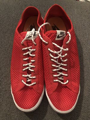 Nike Tennis Classic Ac Mesh Skateboard Shoes Low Blazer Sb Supreme Man 12 for Sale in Los Angeles, CA
