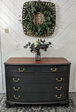 Refinished antique dresser for Sale in Rockland, MA
