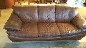 Leather Couch and Loveseat Matching Set for Sale in Rancho Santa Margarita, CA
