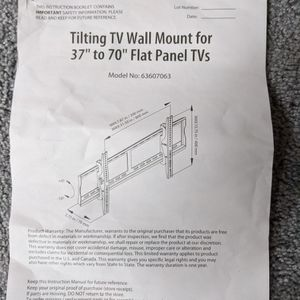 Tilting Tv Wall Mount for Sale in Germantown, MD