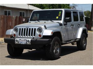 2011 Jeep Wrangler Unlimited for Sale in Fresno, CA