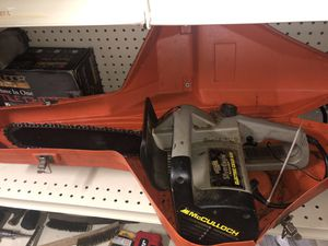 McCulloch Electric Chain Saw for Sale in Dos Palos, CA
