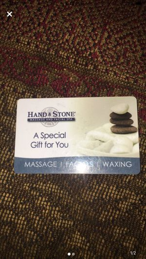 $50 Hand and Stone Gift Card for Sale in Oaklyn, NJ