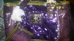 MS. Tina Knowles taste of couture purse collection , with matching wallet, black bag for storage,brand new never used for Sale in Detroit, MI