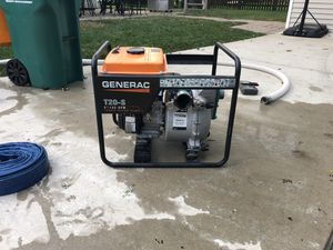 General T20- Trash Pump for Sale in Chicago, IL