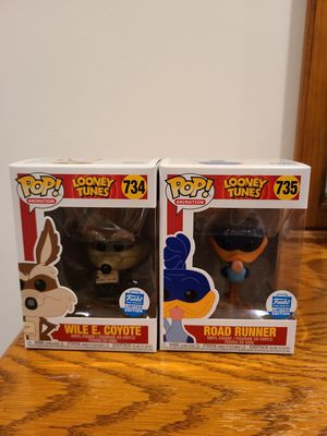 Funko pop Wille E Coyote and Road Runner funko exclusive. for Sale in Snohomish, WA
