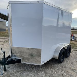 7x10 Enclosed Trailer for Sale in Arlington, TX