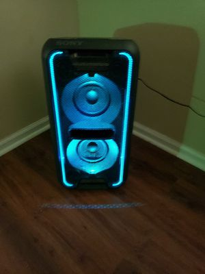 Sony bluetooth speaker with LED lighting and DJ effects for Sale in Prattville, AL