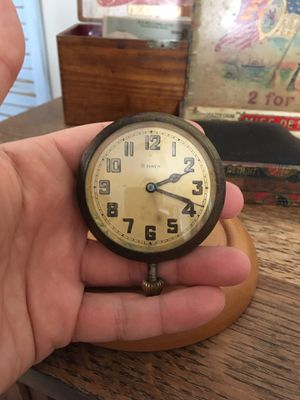 1920's 8 Day Car Clock Antique for Sale in Northville, MI