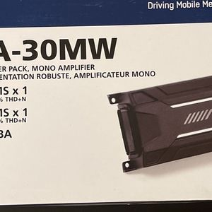 ALPINE KTA-30MW 600 Watt Mono Amplifier Class-D Amp For Polaris RZR/ATV/UTV/Cart for Sale in Riverside, CA