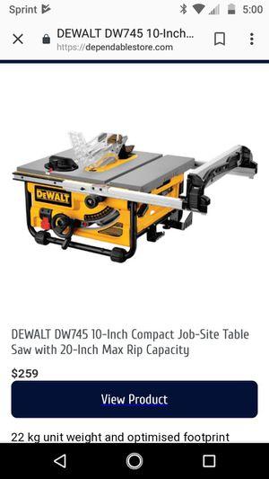 Dewalt table saw for Sale in Kennewick, WA
