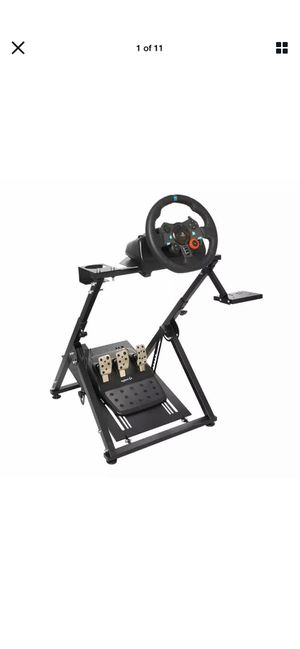 Logitech g29 streering wheel with pedals, shifter and stand. PS4 for Sale in San Diego, CA