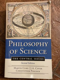 Philosophy Of Science Book for Sale in Buda,  TX