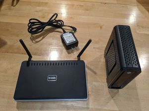 D-Link Switch abd Cable Modem Combo for Sale in San Diego, CA