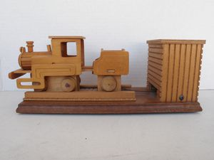 Chinese Craftsman Wooden Train Music Box. I've been working on the railroad. for Sale in Lake Forest, CA