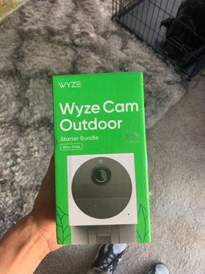 Wyze cam outdoor for Sale in Valrico, FL