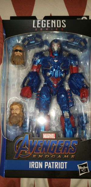 Marvel Legends Avengers Endgame Iron Patriot Fat Thor Baf for Sale in Chicago, IL