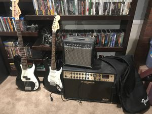 Guitar, bass, amps for Sale in Los Angeles, CA