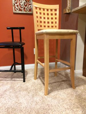 Two bar stools for Sale in Kalamazoo, MI