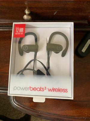 Power Beats 3 Beats by Dre Wireless Headphones for Sale in Garden City, MI