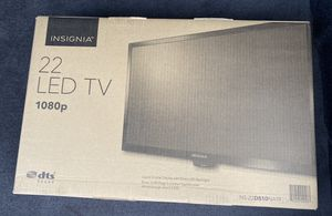 """Insignia 22"""" flat screen for Sale in Fairfield, CT"""