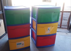 sterilite drawers x2 for Sale in Mesa, AZ