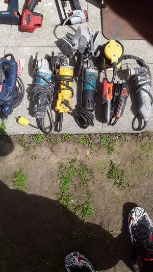 7 power tools for Sale in Hayward, CA