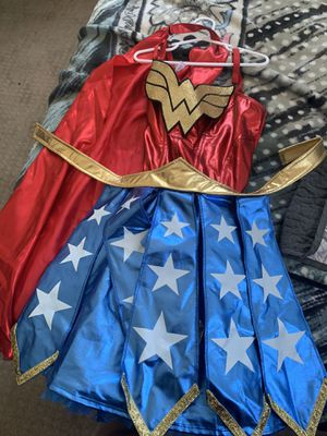 Wonder women costume s/m for Sale in East Los Angeles, CA