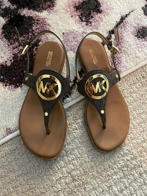 Authentic Michael Kors sandals, firm on price for Sale in Mesa, AZ