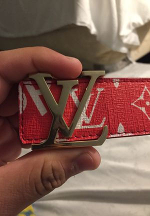 Louis Vuitton Supreme Belt for Sale in MONTGOMRY VLG, MD
