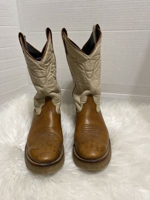 Women's Laredo Boots Size 8 Cowboy Western Two tone Brown Beige 6964 for Sale in Dearborn, MI