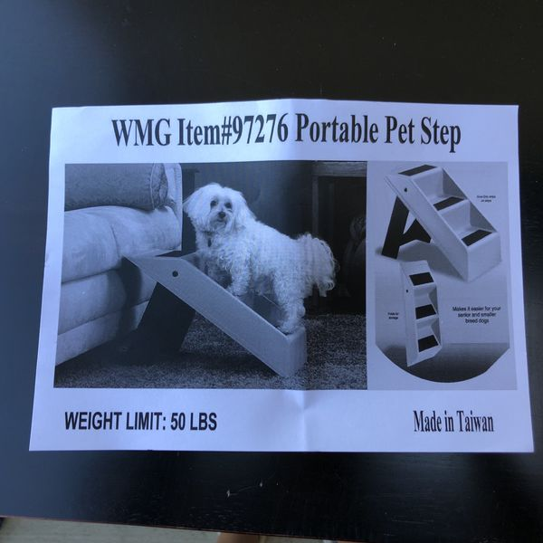 Portable dog stairs