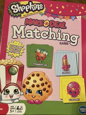 Shopkins Matching Game NEW for Sale in O'Fallon, MO