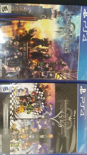 Kingdom of hearts 1.5+2.5 & Kingdom hearts 3 for Sale in Sacramento, CA