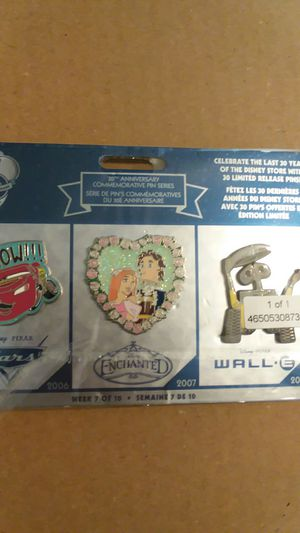Disney store 30th anniversary pins for Sale in Tampa, FL