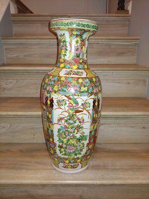 Tall Porcelain Jar/Vase for Sale in Las Vegas, NV