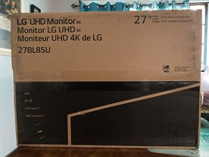 4K LG UHD Monitor for sale!!! for Sale in Hartford, CT