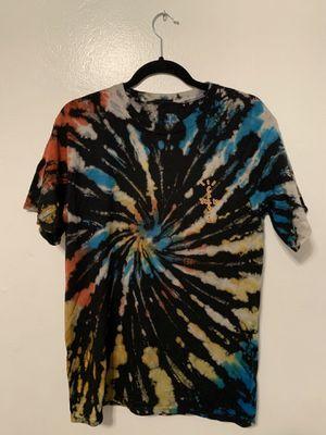 Travis Scott Tie-dye Highest in the Room tee for Sale in San Bernardino, CA