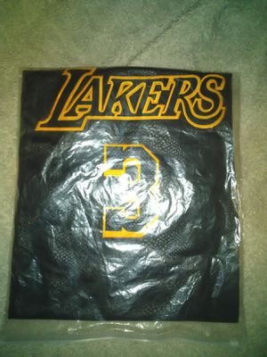 Lakers Jersey fast shipping for Sale in Perris, CA