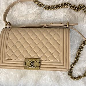 Beige Chanel Purse Like New for Sale in Colorado Springs, CO