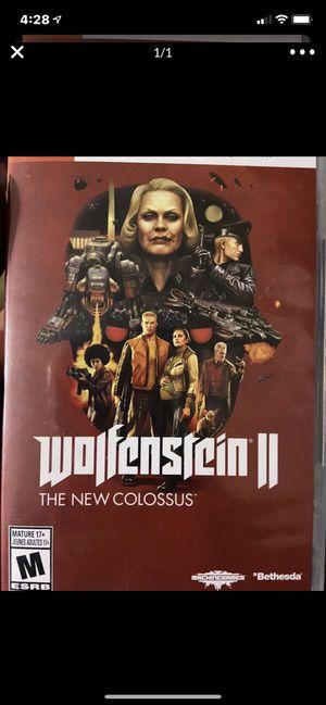 Nintendo switch wolfenstein 2 for Sale in Wildomar, CA
