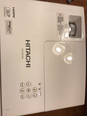 Hitachi CP-DX300 1437 hours used With power adapter for Sale in Federal Way, WA