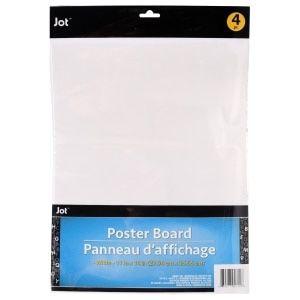 Jot White Poster Board for Sale in Tulsa, OK