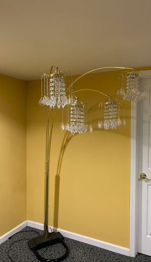 Standup lamp/chandelier for Sale in St. Louis, MO