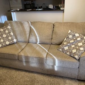 Couch, Leather chair, Ottoman, And Coffee Table for Sale in Arvada, CO